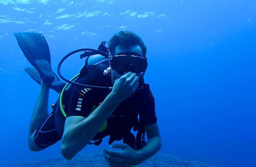 best scuba diving in madeira